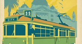 Postcards of Melbourne