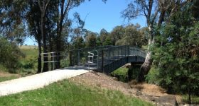 La Trobe Uni Lakes Bridge