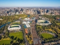 Melbourne Park by air