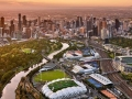 Melbourne by air